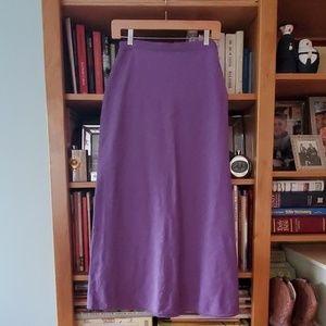 Eileen Fisher lavendar skirt